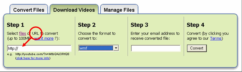 Lib Res & Tech for SBISD Curriculum / ZamZar Video Conversion